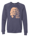 Dolly Sweatshirt  Crew Neck Sweatshirt - Nothing Too Fancy