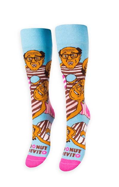 Donut Devito Freaker Feet Socks  Socks - Nothing Too Fancy