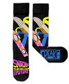 Snack To The Future Freaker Feet Socks