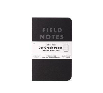Pitch Black Notepad 3-Pack  notepad - Nothing Too Fancy