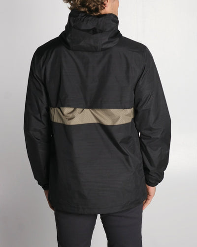 Fleet Ghost Reflective Jacket - Black Sage