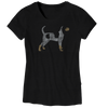 Ladies Hound Dog  T-Shirt - Nothing Too Fancy