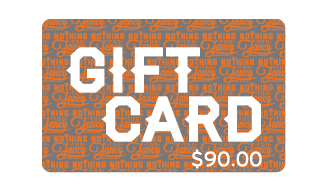 $90.00 Gift Card  Gift Card - Nothing Too Fancy