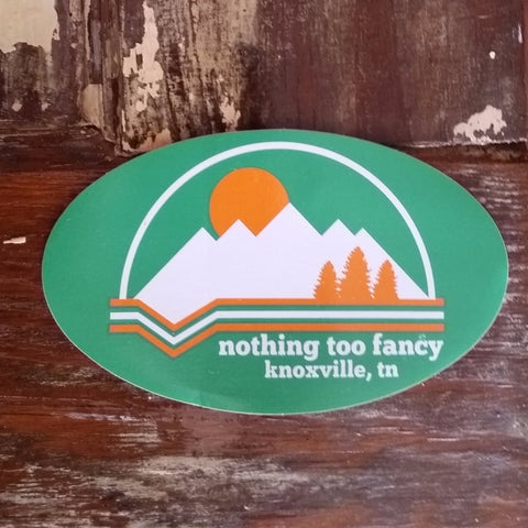NTF Mountains Decal