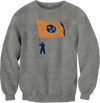 Davy Flag Sweatshirt  Crew Neck Sweatshirt - Nothing Too Fancy