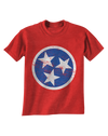 Youth TN Flag - Red  T-Shirt - Nothing Too Fancy