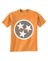 Kids TN Flag - Orange  T-Shirt - Nothing Too Fancy