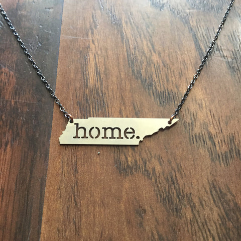 Home Necklace - Stainless Steel