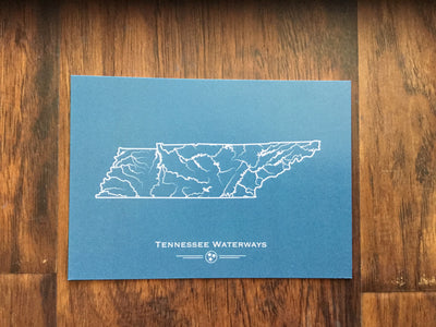 Tennessee Waterways Postcard  Post Card - Nothing Too Fancy
