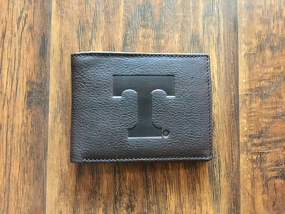 Power T Leather Bifold Wallet  wallet - Nothing Too Fancy