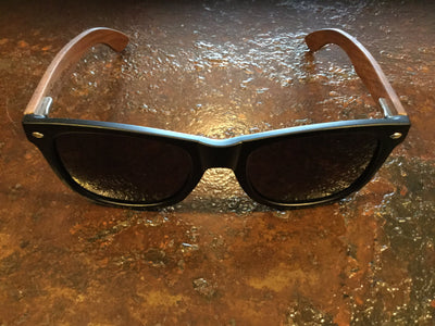 State of TN Sunglasses - Walnut  sunglasses - Nothing Too Fancy