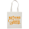 NTF Canvas Tote Bag - Orange  Tote Bag - Nothing Too Fancy
