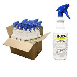Total Solutions Surface Sanitizing Spray 1 Case (12 32.oz Bottles)