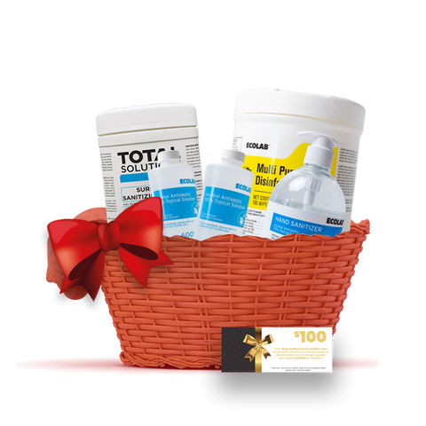 THE SANITIZING/DISINFECTING GIFT BASKET by TFC