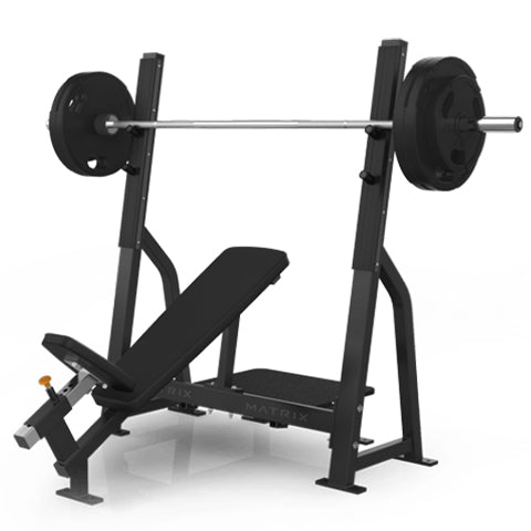 Magnum Olympic Incline Bench (Black Frame)
