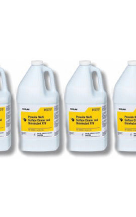 Ecolab Peroxide Multi-Surface Disinfectant Cleaner - 1 Case (Qty 4, Gallons)