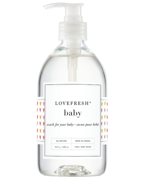 lovefresh baby wash