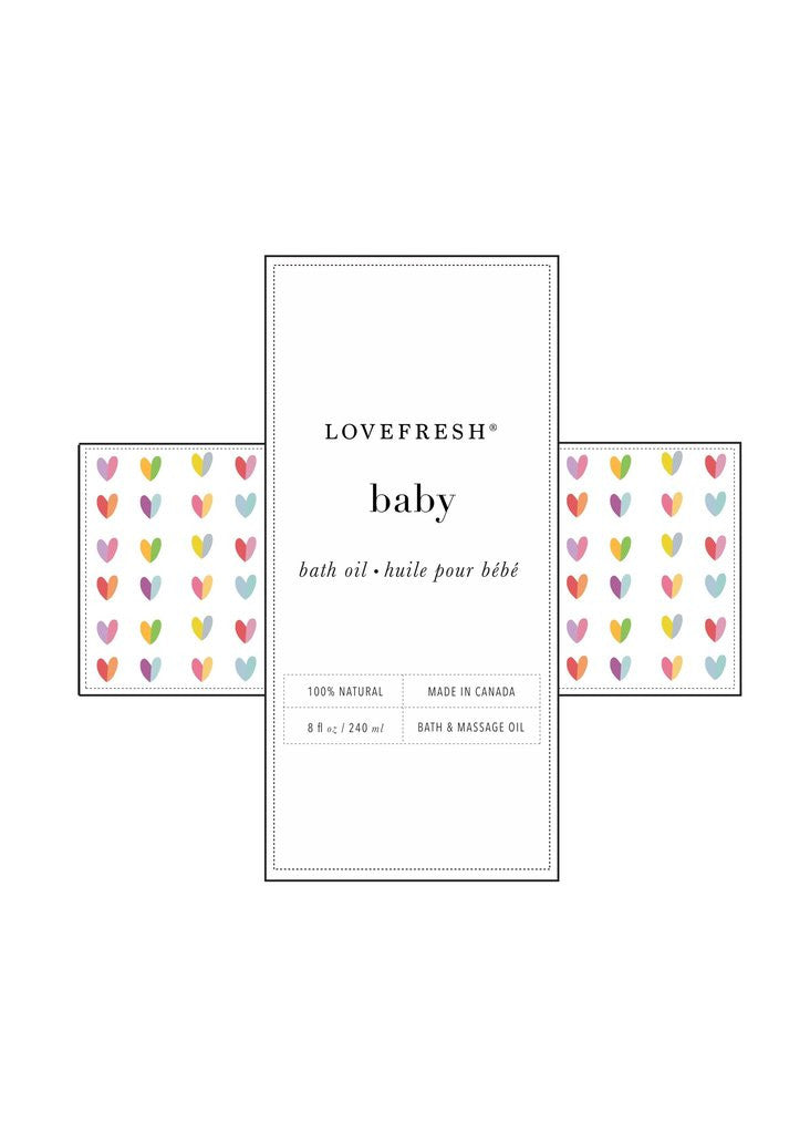 lovefresh baby massage oil