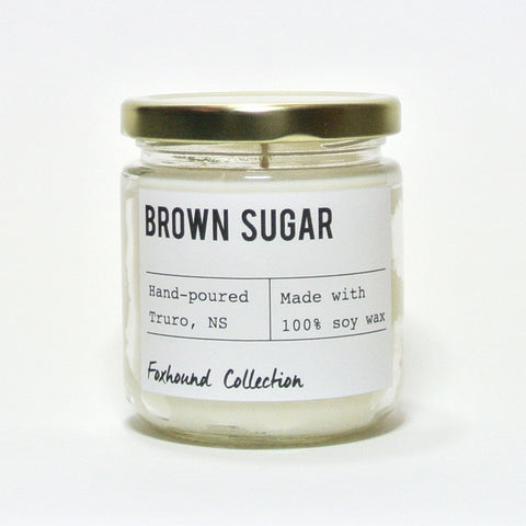 foxhound collection brown sugar soy candle
