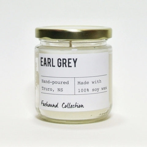 foxhound collection earl grey soy candle
