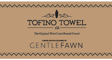 gentle fawn x tofino towels arrow towel