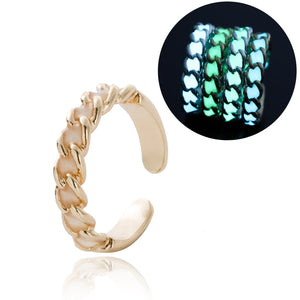 Our Adjustable Glow in the Dark Halloween Ring!