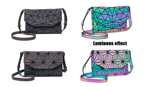 2019 Color Shift Luminous Small Dressy or Casual Shoulder Bag Wherever You Go - ON SALE