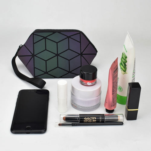 Our 2019 Luminous Geometric Cosmetic Bag Organizer - ON SALE