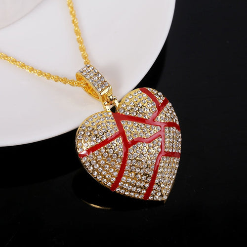 Modern Heart Motif Necklace - 40%OFF BLACK FRIDAY EARLY ACCESS SALE