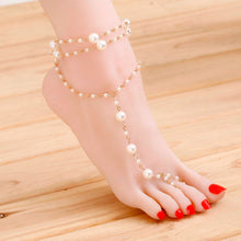 Load image into Gallery viewer, Pearl Delight Barefoot Sandal