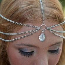 Load image into Gallery viewer, Tassel Water Drop Gem Headband - LoveOurJewelry.com