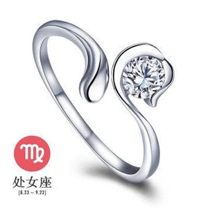 Our Unique Silver Zodiac Ring is a Beautiful Way to Wear Your Zodiac Sign