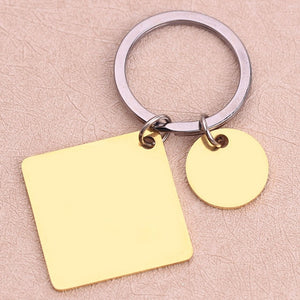 Personalized Custom Jewelry Calendar Key Chain - LoveOurJewelry.com