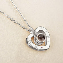 "Load image into Gallery viewer, ""I Love You"" Projection Pendant Pendant Necklace - LoveOurJewelry.com"