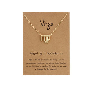 Our Zodiac Sign Simple and Elegant Necklace