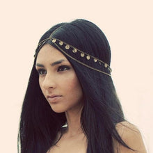 Load image into Gallery viewer, Multilayer Boho Head Chain - LoveOurJewelry.com