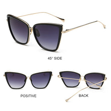 Load image into Gallery viewer, OUR OVERSIZED CATEYE SUNGLASSES IS TODAY'S FASHION TREND