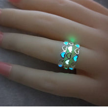 Load image into Gallery viewer, Our Adjustable Glow in the Dark Halloween Ring!