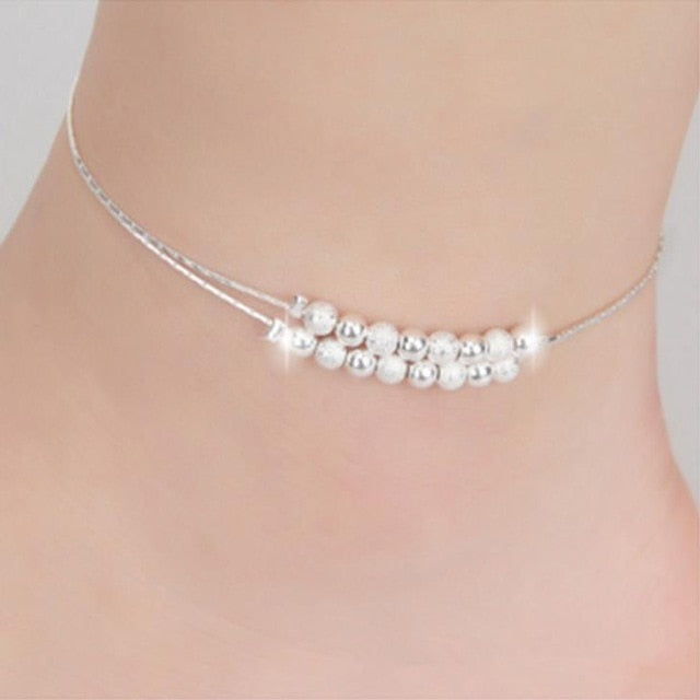 Double Layer Chain Anklet - LoveOurJewelry.com