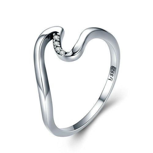 Wave Finger Ring - LoveOurJewelry.com