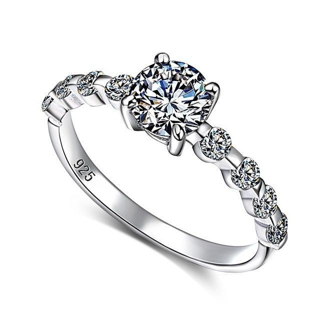 White Cubic Zirconia Cocktail Ring - LoveOurJewelry.com