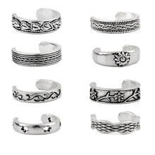 Load image into Gallery viewer, Vintage Carved Twist Toe Ring - LoveOurJewelry.com