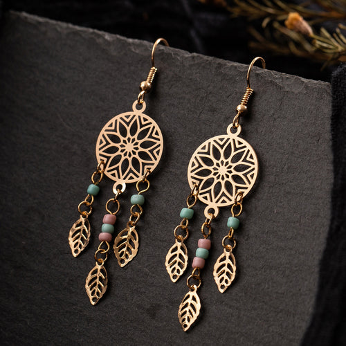 Bohemian Style Tribal  Drop Earrings - LoveOurJewelry.com
