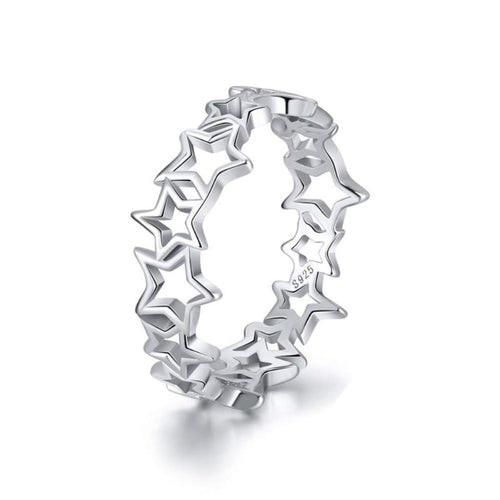 Cute Star Shape Hollow Ring - LoveOurJewelry.com