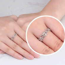 Load image into Gallery viewer, Cute Star Shape Hollow Ring - LoveOurJewelry.com