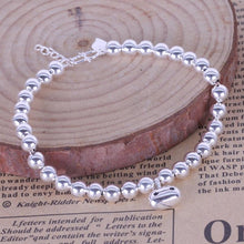 Load image into Gallery viewer, Silver Beaded Bracelet - LoveOurJewelry.com