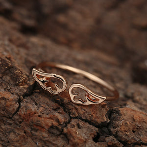 Lovely Angel Wings Toe Ring - LoveOurJewelry.com