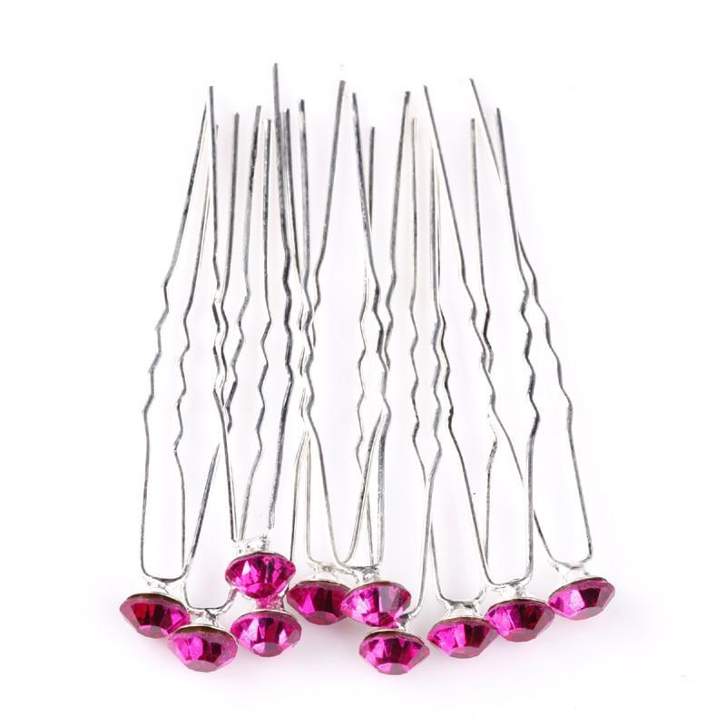 Silver Crystal Hair Pin - LoveOurJewelry.com