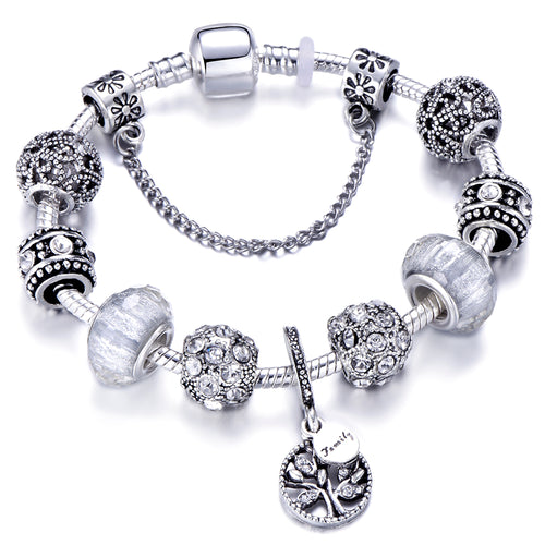 Tree of Life Charm Bracelet - LoveOurJewelry.com
