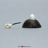 Ruby-throated Hummingbird: Skull, Egg and Decorative Egg Stand (Replicas)